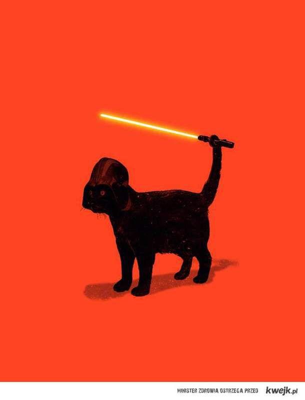 """Dark """"Kitty"""" Vader"""