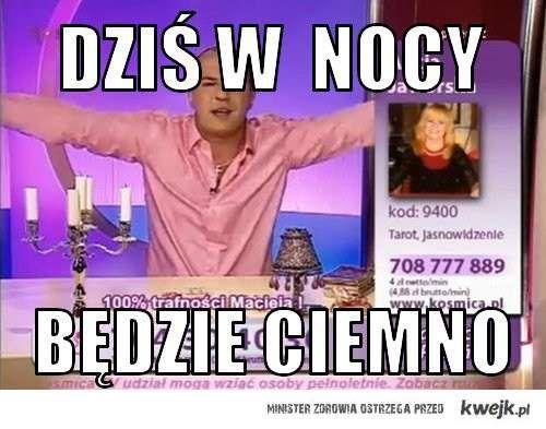Wróżbita Maciej !