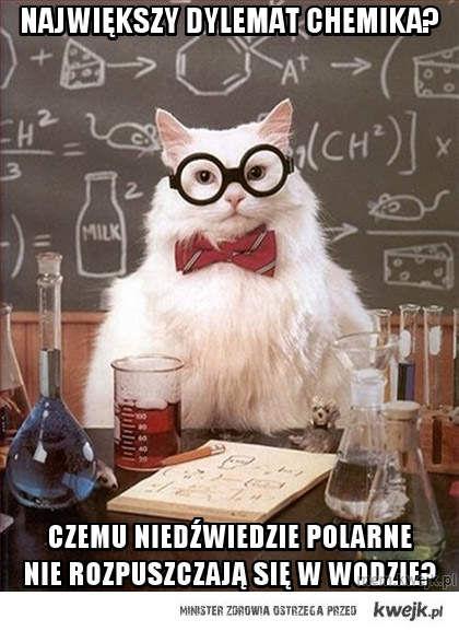 Największy dylemat chemika?