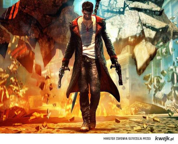 Devil May Cry 5 (2013r.). Już został wydany, a ty nadal na kwejku siedzisz zamiast go ściągać i grać w niego.