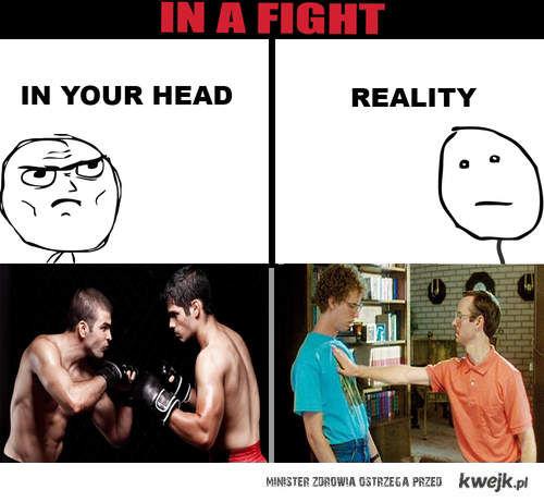 Podczas walki