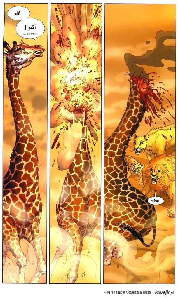 Samobójcza żyrafa