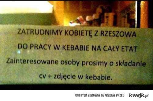 CV w Kebabie