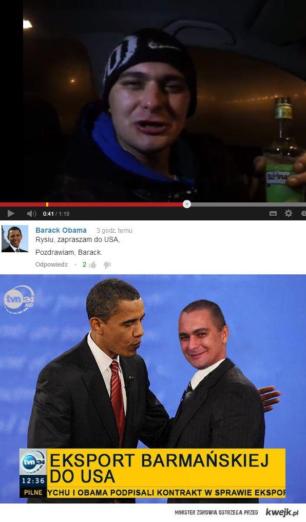 Rychu i Obama