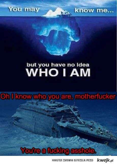 ni wiesz kim jestem