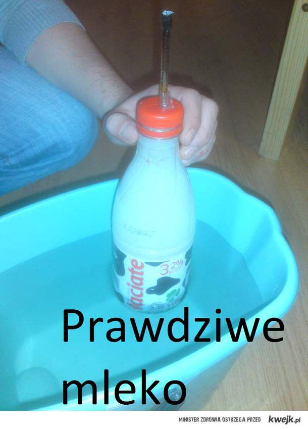 prawdziwe mleko