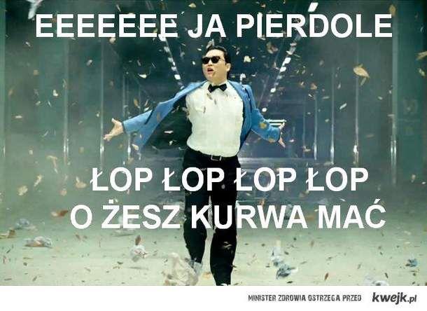 gangnam po polsku