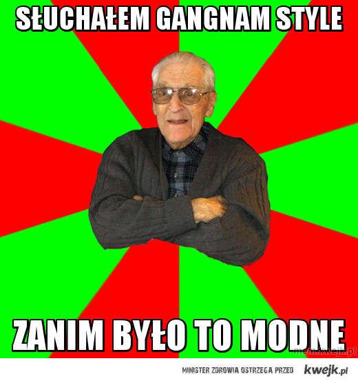 Słuchałem Gangnam style