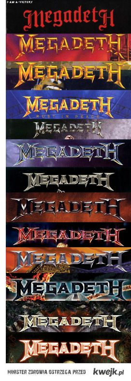 Megadeth through the covers