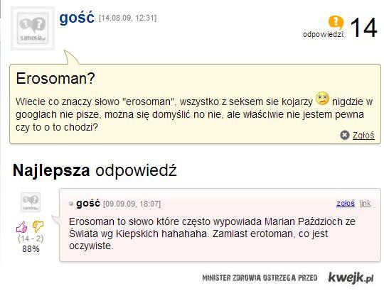 Erosoman