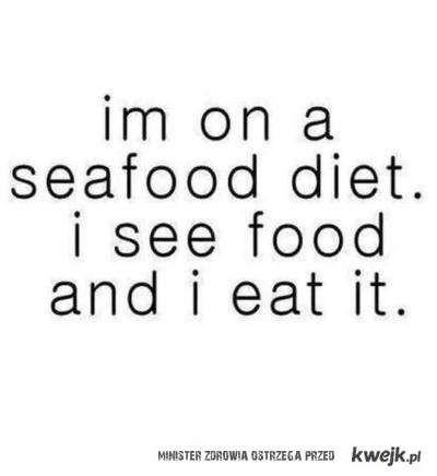 i see food :3