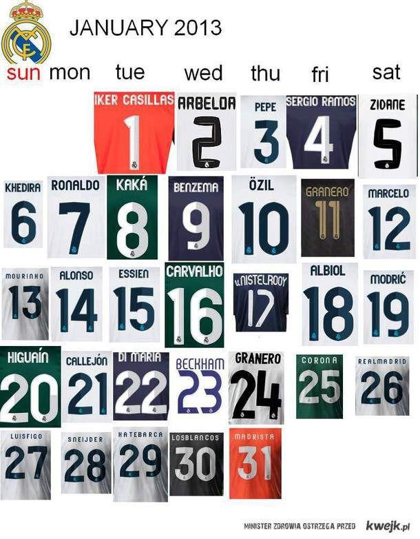 Kalendarz ;)