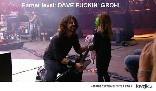 Dave Grohl z córką