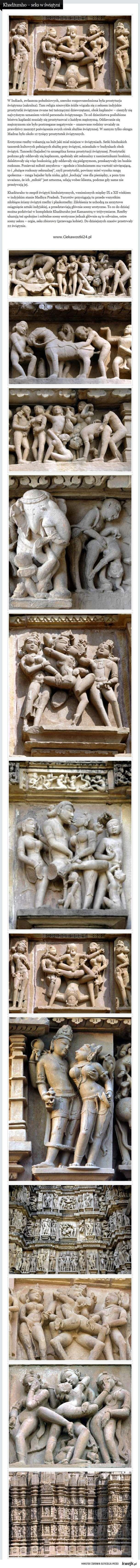 Khadżuraho – seks w świątyni