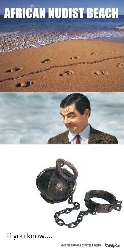 Afrykańska plaża