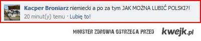 Jak można mówić że się nie lubi polskiego