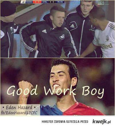 Good work son