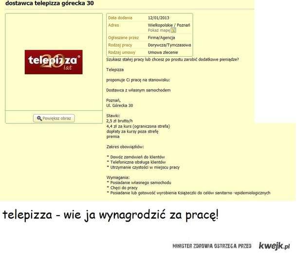 Telepizza - pracodawca roku