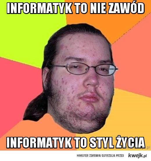 informatyk to nie zawód