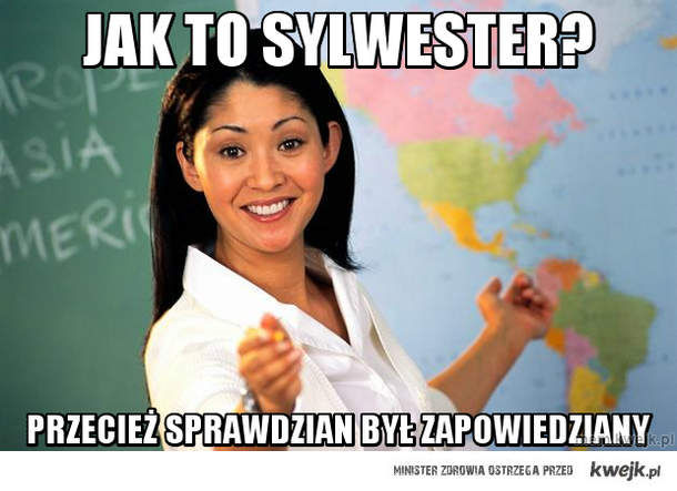 Jak to Sylwester?