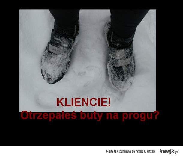 Wytrzep buty!