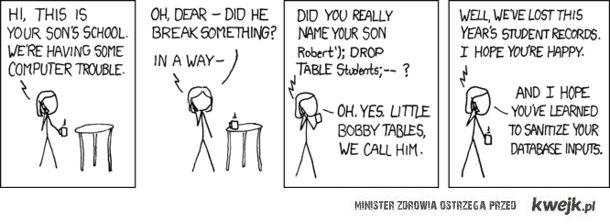 Taki informatyczny dowcip :)