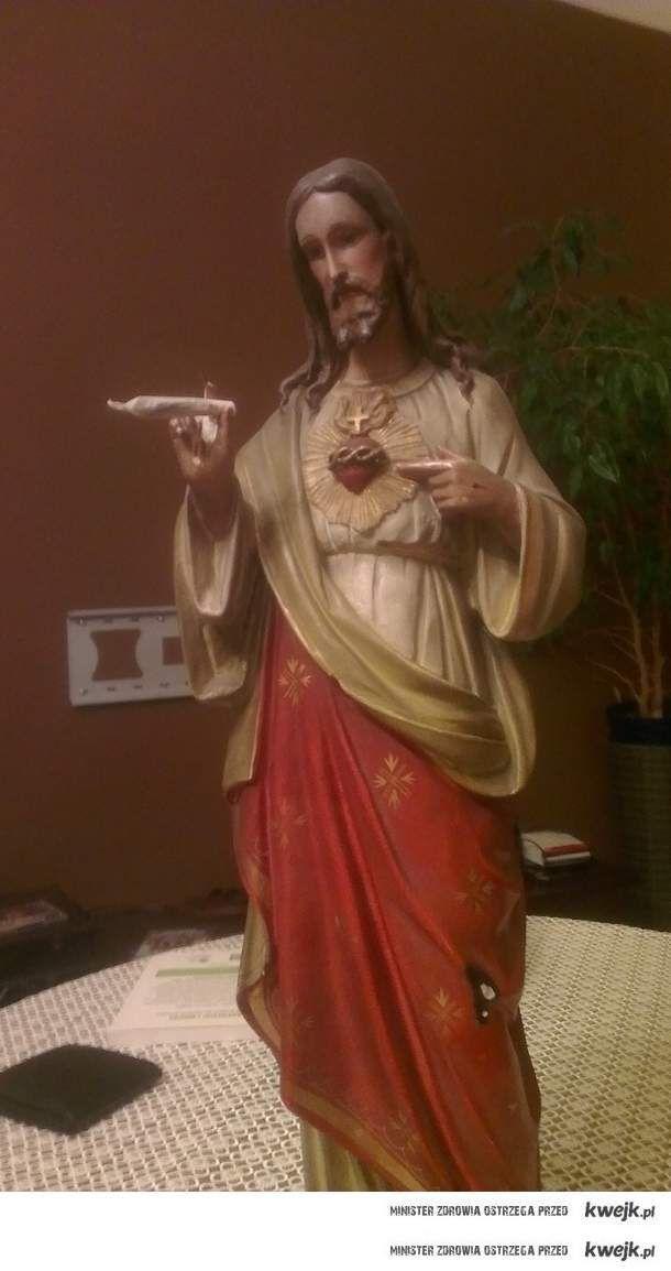 Jezus smaży joita