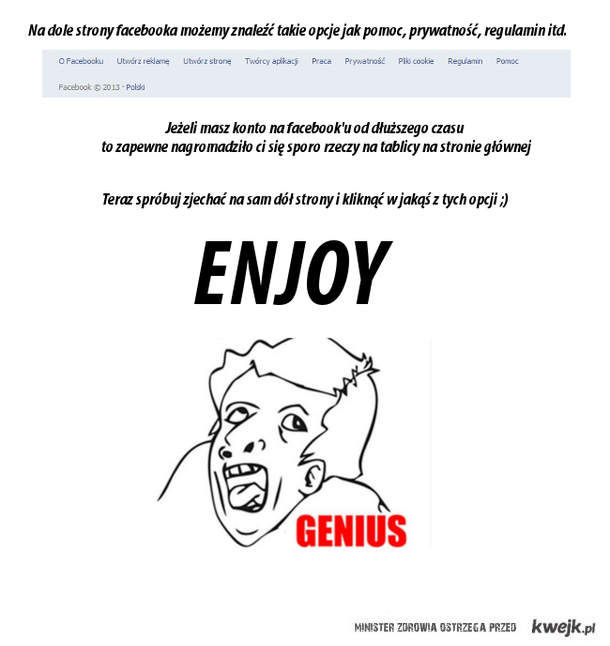 Genius Facebook ;)
