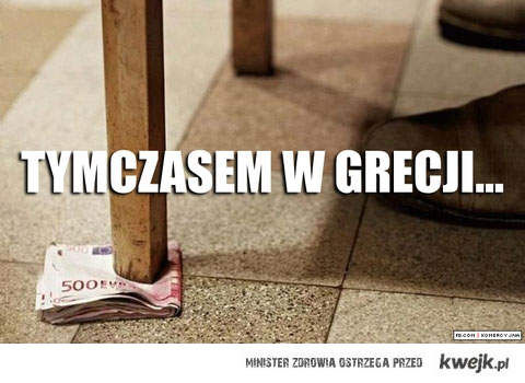 grecja wie co tobic z kasa