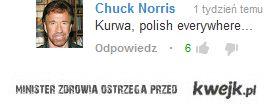 Nawet Chuck Norris wie że Polska opanowała YouTube