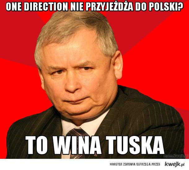 one direction nie przyjeżdża do polski?