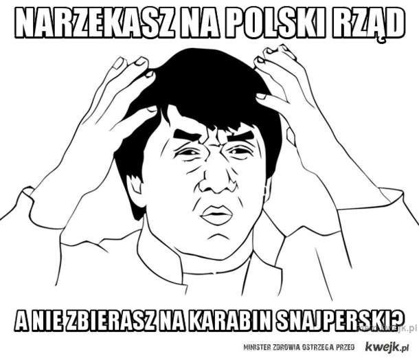 Narzekasz na polski rząd