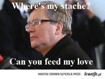 Where's my stache?