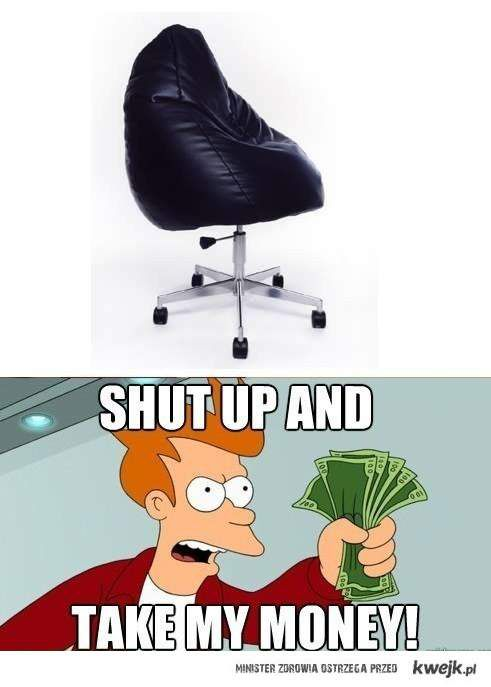 zajebisty fotel!