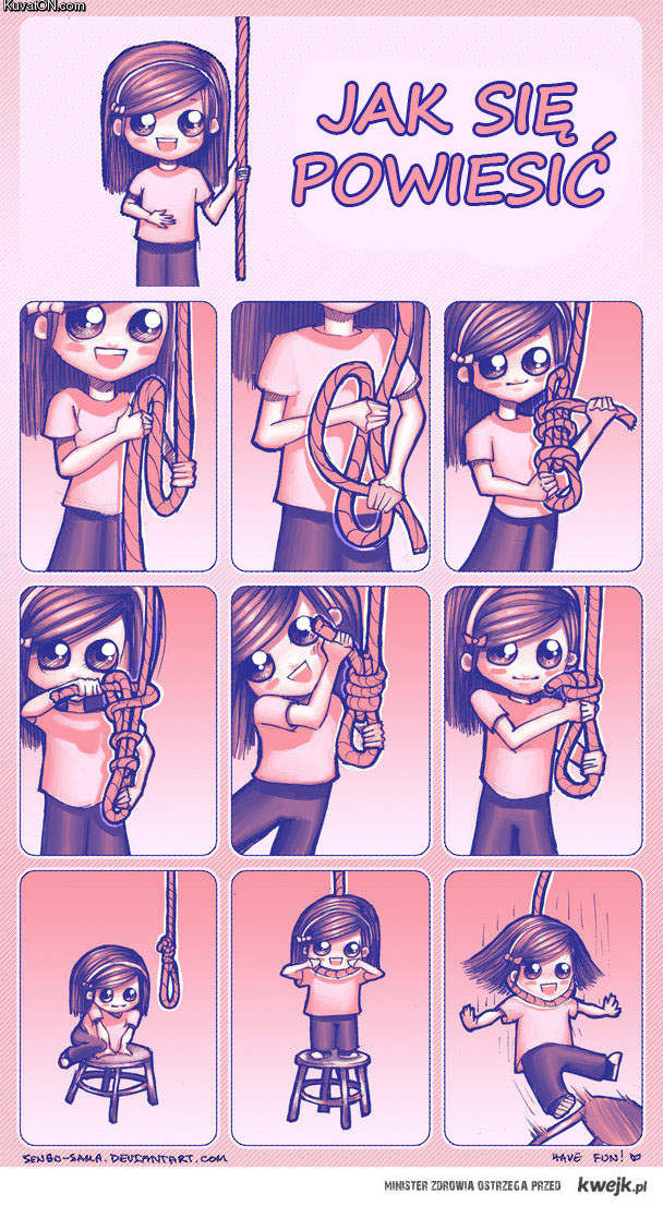 jak się powiesić