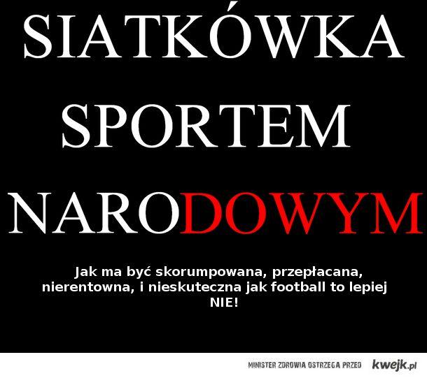 Siatkówka > football