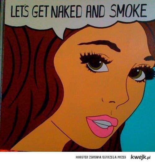 naked&smoke