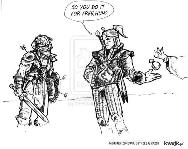 Dragonborn vs Geralt