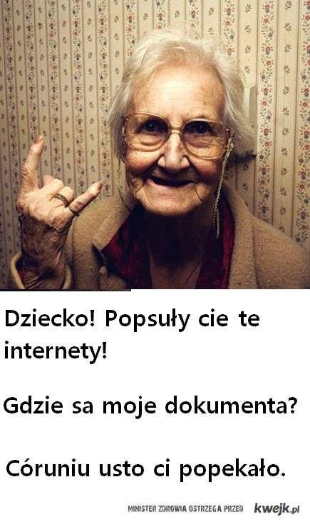 Babcia!