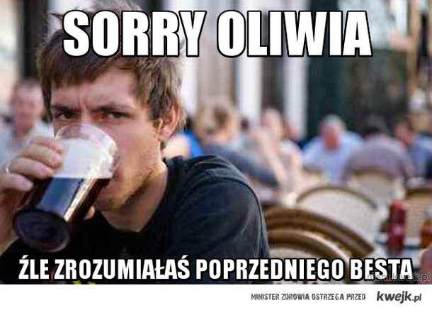 Sorry oliwia