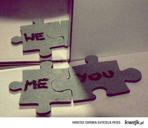 me + u = we