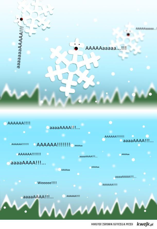 Spada śnieg!