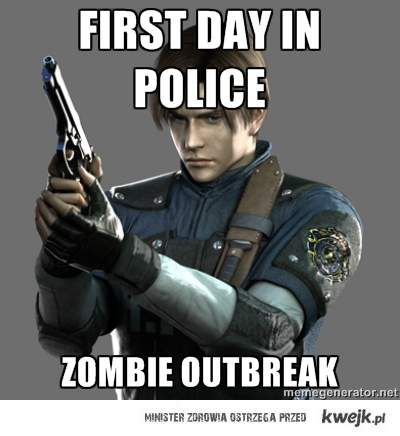 Bad Luck Leon S. Kennedy