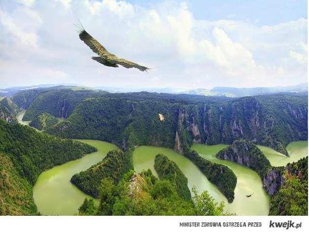kanion w Serbii