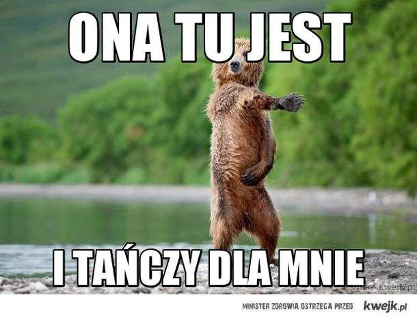 i tańczy dla mnie miś