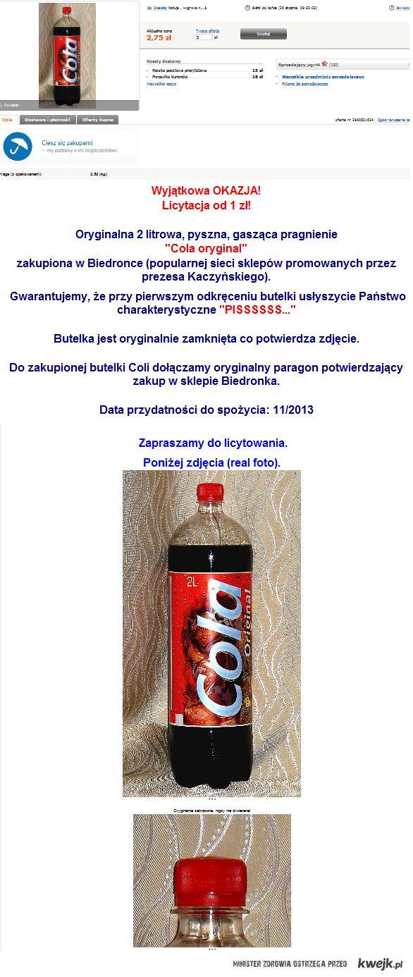 Cola z Biedronki