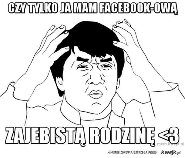 Czy tylko ja mam facebook-ową