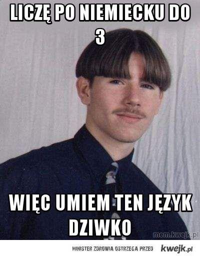 liczę po niemiecku do 3