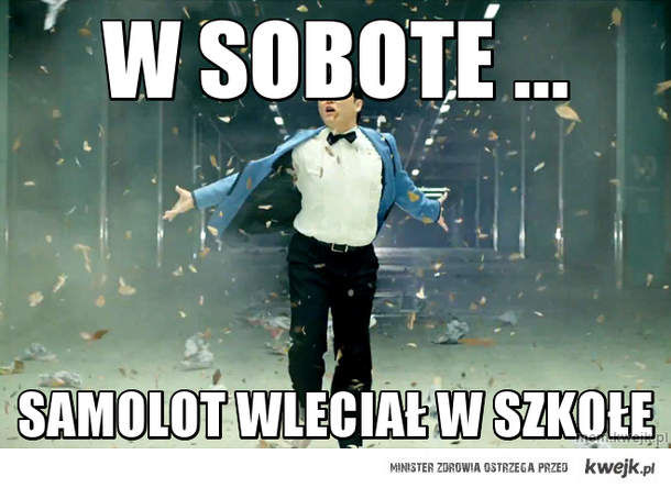 W sobote ...