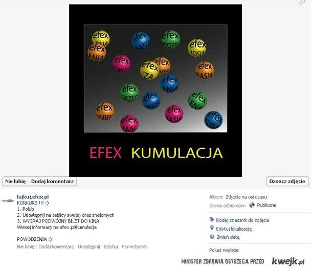 Kumulacja Efex :D